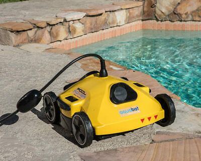 Aquabot  S2-50 Pool Rover Above and In Ground Pool Cleaner w/ 50' Cord