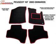 Peugeot 107 Car Mats