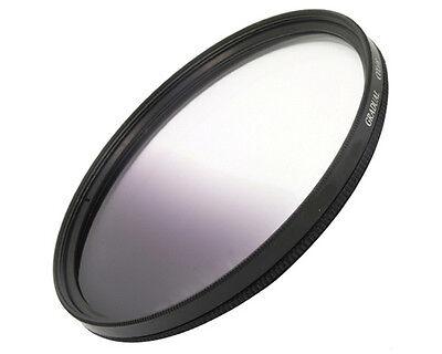 Filtre dégradé gris 55mm pr objectif Sony 3.5-5.6 18-70mm Alpha 100 200 350 700