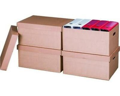10 Stück ARCHIV-MULTIBOX Transportboxen Archivkarton Archivbox A4