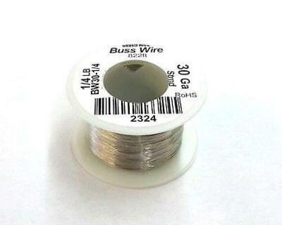 30 Gauge Tinned Copper Bus Wire 14 Pound Roll 822 Approx. Length 30awg