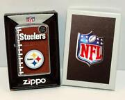 Zippo Lighters Pittsburgh Steelers