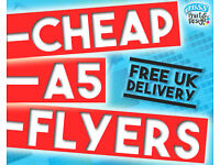 Cheap A5 Flyer Printing! | ABSS Print & Design | FREE UK DELIVERY