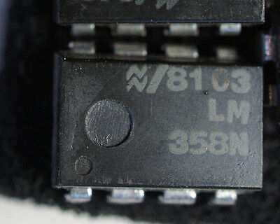 Nos Ns Lm358n Dip8  Qty 1   Ships In Usa Tomorrow