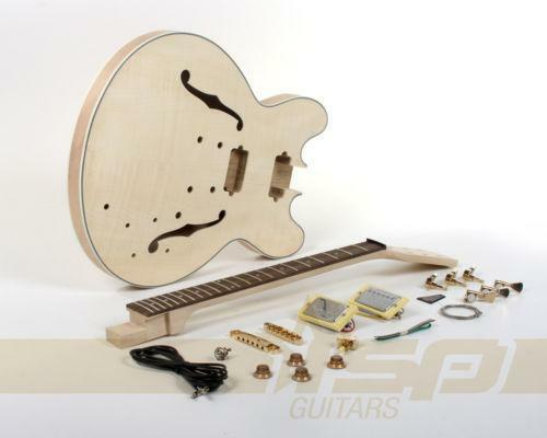 hollow body guitar kit