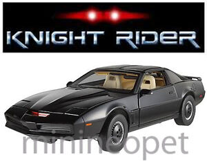 HOT WHEELS ELITE X5469 KNIGHT RIDER PONTIAC TRANS AM KITT 1/18 DIECAST BLACK