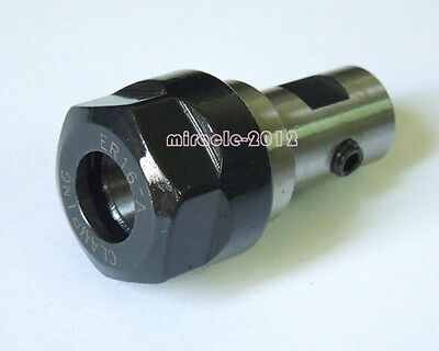 Motor Shaft Collet Chuck Er16a 8mm Extension Rod Holder Toolholder Cnc Milling
