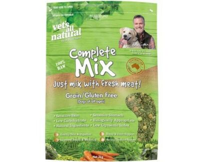 Free Vet's All Natural Complete Mix for raw food for dogs and puppies