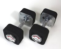 Pair of Quick Change Adjustable Dumbbells 5lbs to 50lbs