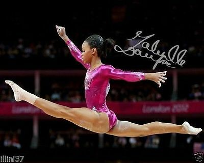Gabby Douglas Usa Olympic Gymnast Signed Autographed 8X10 Photo Reprint