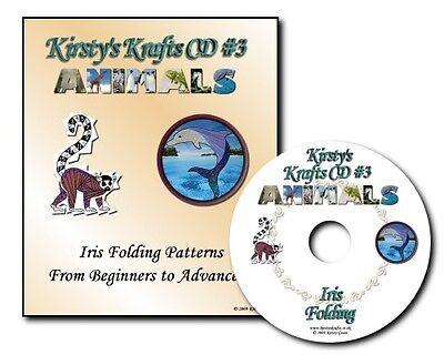 Kirsty Krafts Iris Folding CD 3 - Animals - Templates, Patterns & Card Gallery.