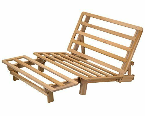Multi-functional Lounger Futon Frame 13 Convertible Positions (Twin SIze)