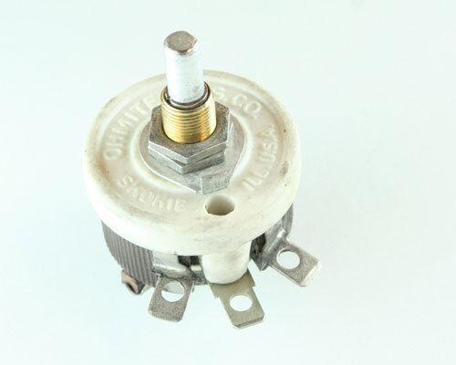 1x 50 Ohm 25W Rheostat Wirewound Resistor Potentiometer 25 Watt 50ohm Ohms