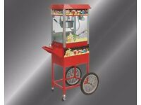 Old Fashioned Movie Popcorn Cart & Concession Stand Tansik Brand New in box