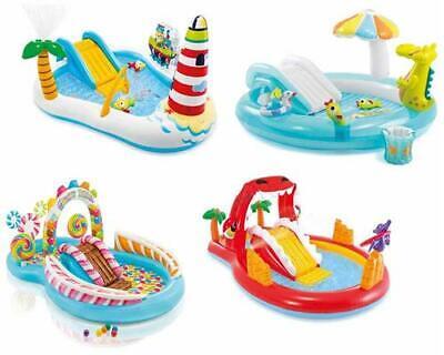 Planschbecken Kinderpool Playcenter Pool für Kinder Rutsche viel Zubehör Intex