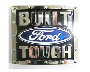 New-Metal-Built-Ford-Tough-Belt-Buckle