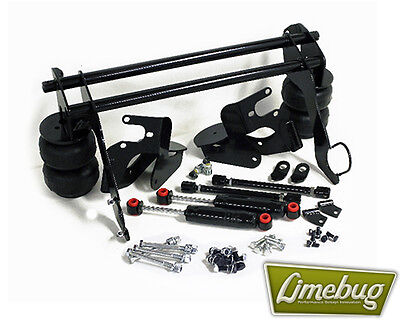 Classic VW Beetle Ghia Rear Bolt on Air Ride Suspension Kit 1958-79 Swing Axle