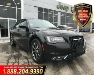 2017 Chrysler 300 300S| Low KM| AWD| Leather| Remote Start