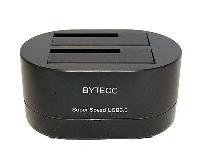 Bytech T-320 USB 3.0 Superspeed To Dual Sata Docking Station