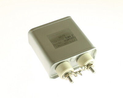 1x .1mfd 2500vdc Hermetically Sealed Oil Capacitor .1uf 2500v 2500 Volts Dc 0.1