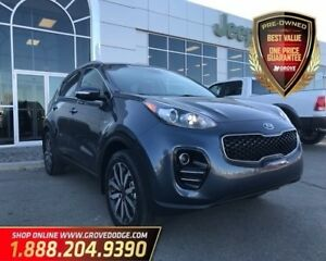 2018 Kia Sportage EX| Leather| AWD| Low KM| Bluetooth
