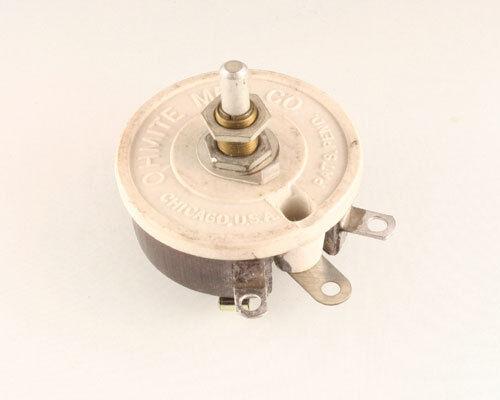 New 1 pcs. Ohmite 500 Ohm 50W Single Turn Rheostat RJS500 50 Watt