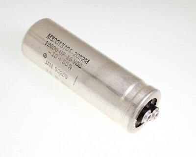 Sprague 12000uf 15v Large Can Electrolytic Capacitor M3901804-2052m