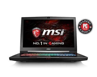 "MSI 17.3"" Gaming GT73VR Titan Pro i7-7700HQ Nvidia GTX 1080 8GB GDDR5 16GB 120Hz"