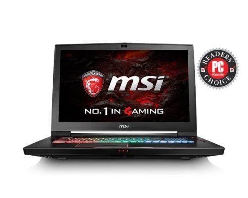 MSI 17.3'' GT73VR 6RE Titan 4k 226 i7-6820HK GTX 1070 8GB, 1TB HDD, 16GB DDR4