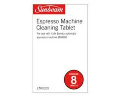 Sunbeam mini barista espresso machine em4300 coffee machines new em0020 sunbeam 8 espresso cleaning tablets fandeluxe Gallery