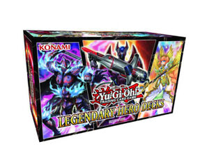 Yu-Gi-Oh Legendary Hero Decks Available @ Breakaway