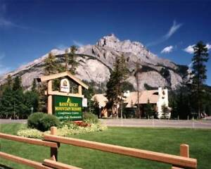 EASTER WEEK at the Banff Rocky Mountain Resort April 14-21, 2019