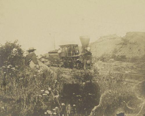 Train Locomotive Orange & Alexandria Railroad Virginia 8x10 US Civil War Photo