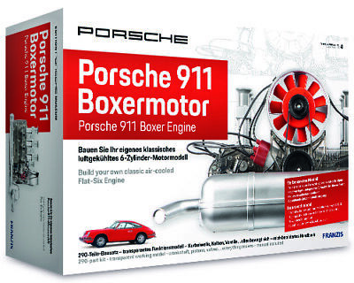 Porsche Flat-Six Boxer Engine Model Kit, Porsche Museum Edition - updated 2020!