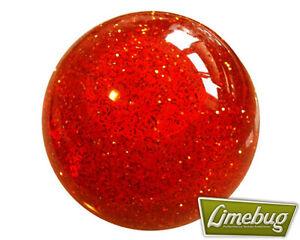 Orange-Glitter-Ball-Gearstick-Premium-Shift-Gear-Knob-VW-Beach-Buggy-T1-Beetle