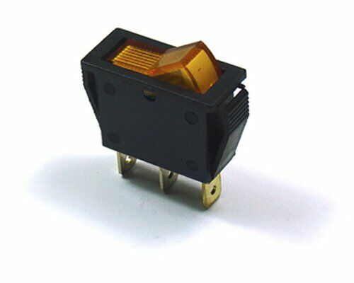 CYGUSA Illuminated Automotive Rocker Switch - Amber