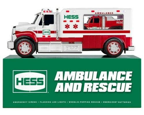 2020 HESS TOY TRUCK AMBULANCE AND RESCUE BRAND NEW IN BOX