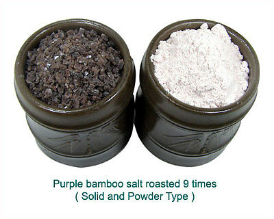 Kaeam Purple Bamboo Salt (9 times roasted) 50g-crystals (solid type)