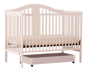 Convertible Baby Crib and Sealy Mattress - Great Condition!