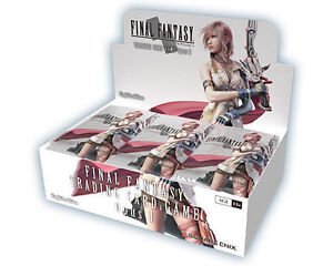 Final Fantasy OPUS 1 & 2 Booster Boxes ON SALE $40 Off!