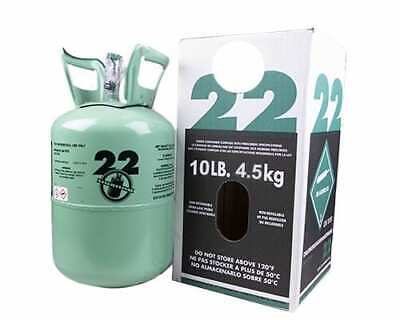 NEW R22 refrigerant 10 lb. factory sealed made in USA FREE SAME DAY SHIPPING !