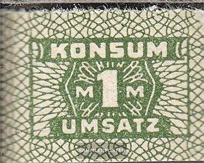 DDR Konsummarke bankfrisch 1 Mark