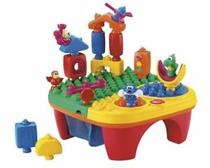 Fisher-Price Pop-Onz Pop 'N Twirl Table Building System