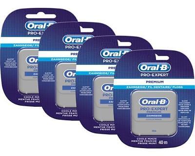 Oral-B PRO-EXPERT Premium Zahnseide 4 x 40 m Spender 4er Pack Floss ()