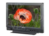 "Panasonic BT-LH1700 WE monitor w/ Petrol case HD / SD 17 inch 16:9 LCD Studio Stage Filming 17"""