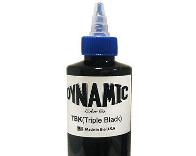 Dynamic Triple Black Tattoo Ink Lining Shading Art Supply Tribal Dark Blackest