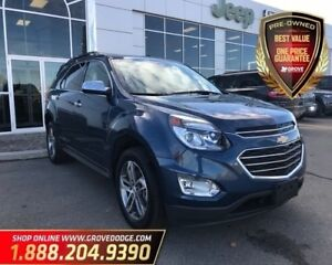 2017 Chevrolet Equinox Premier| AWD| Leather| Remote Start| AUX