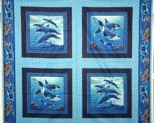 Childrens cotton quilting fabric ebay for Childrens quilt fabric