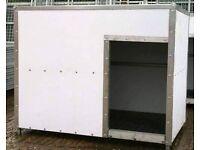 XL GALVANISED INDESTRUCTABLE DOG KENNEL BOX