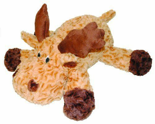 Patchwork Pet Plush Swirl Moose Beige 15 Inch